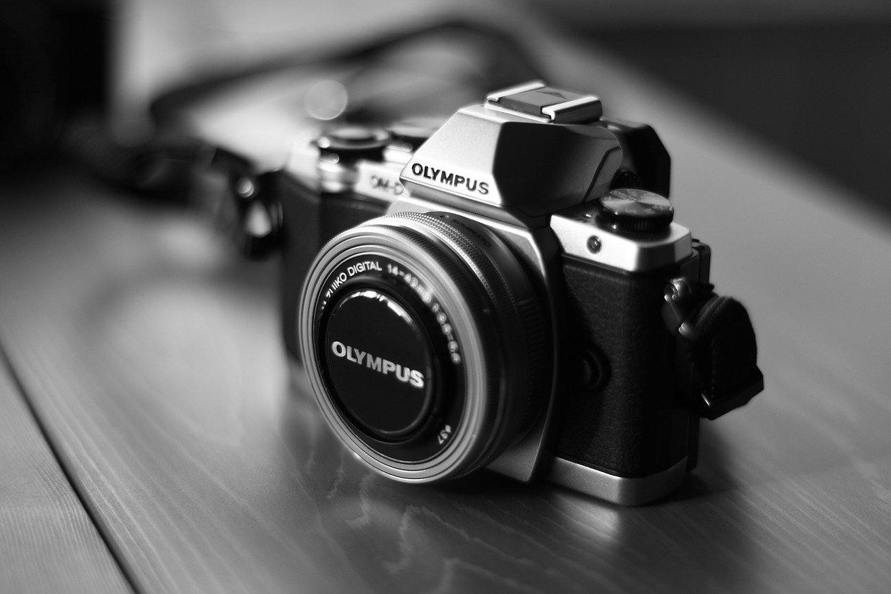 Les divers accessoires d'un appareil photo